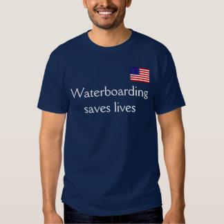 Waterboarding saves lives tees