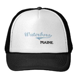 Waterboro Maine City Classic Hat