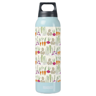 Waterbotle- Veggies! green Insulated Water Bottle
