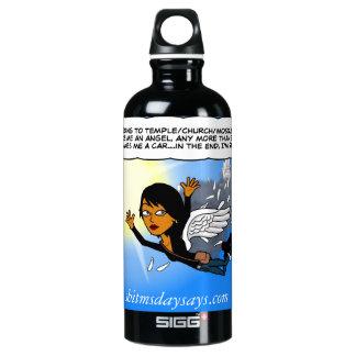 Waterbottle with MS. Days wisdom Aluminum Water Bottle