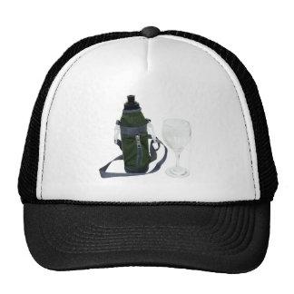 WaterBottleWineGlass050209 Trucker Hat