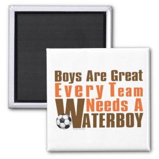 Waterboy Scoccer 2 Inch Square Magnet