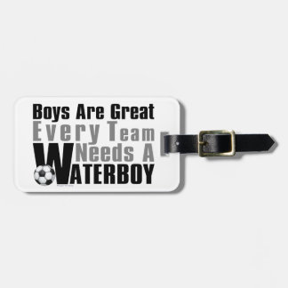 Waterboy Scoccer Bag Tag