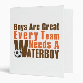 Waterboy Scoccer Binder