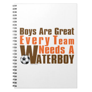 Waterboy Scoccer Notebook