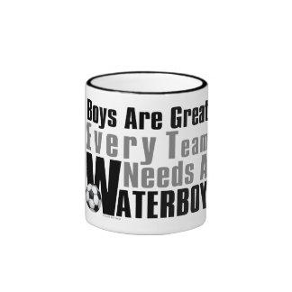 Waterboy Scoccer Ringer Mug