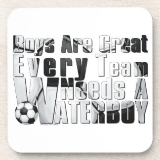 Waterboy Soccer Drink Coaster
