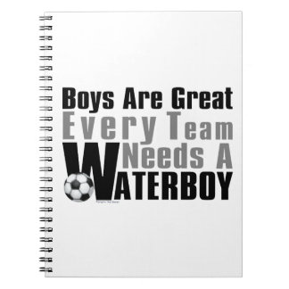 Waterboy Soccer Notebook