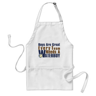 Waterboy Vollyball in Blue Adult Apron