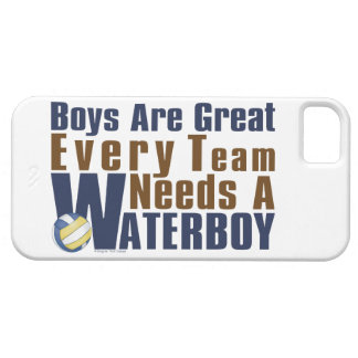 Waterboy Vollyball in Blue iPhone SE/5/5s Case