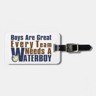 Waterboy Vollyball in Blue Luggage Tag