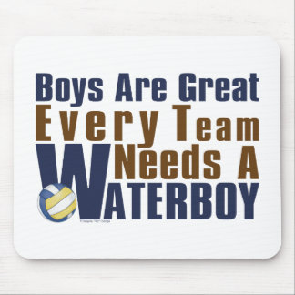 Waterboy Vollyball in Blue Mouse Pad