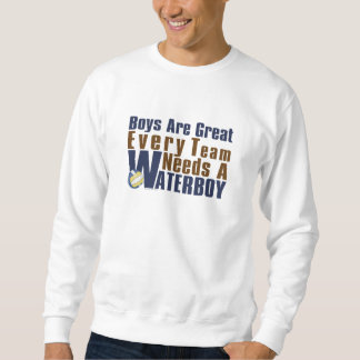 Waterboy Vollyball in Blue Sweatshirt