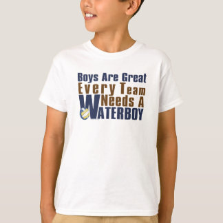 Waterboy Vollyball in Blue T-Shirt