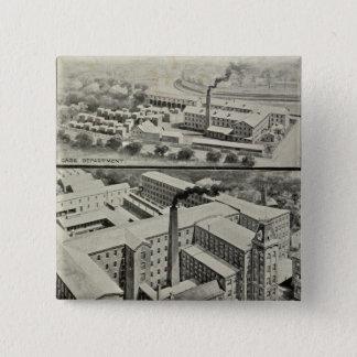 Waterbury Clock Co Pinback Button
