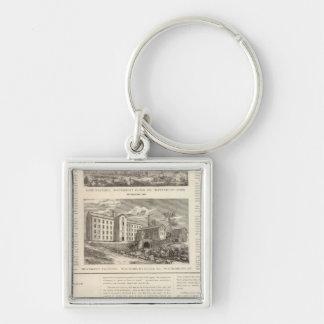 Waterbury Clock Company Keychain