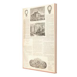 Waterbury Clock Company Impresión En Lienzo Estirada