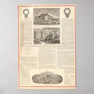 Waterbury Clock Company Poster