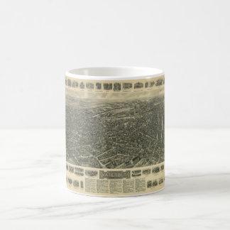Waterbury Connecticut by Thaddeus M. Fowler (1917) Classic White Coffee Mug