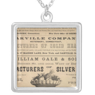 Waterbury Hook and Eye Company Silver Plated Necklace