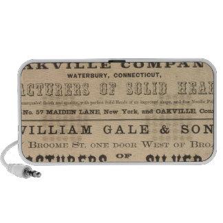 Waterbury Hook y Eye Company Portátil Altavoz
