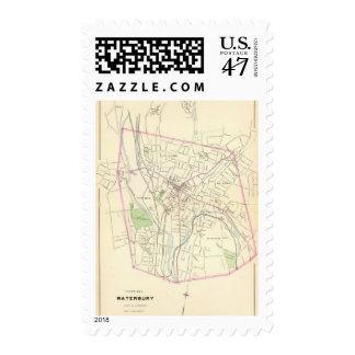 Waterbury Postage Stamp
