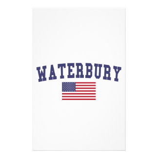 Waterbury US Flag Stationery
