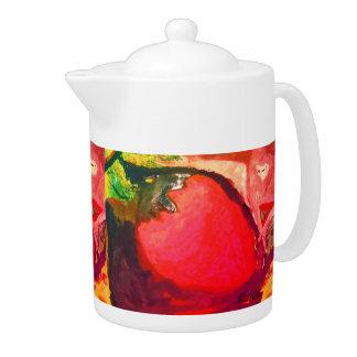 Watercolor#1 Teapot