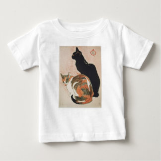 Watercolor - 2 Cats - Théophile Alexandre Steinlen Baby T-Shirt