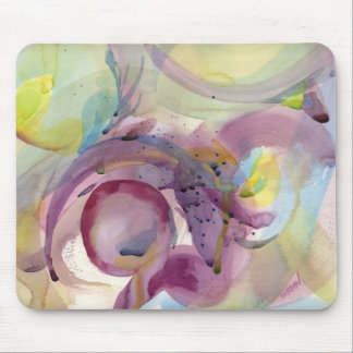 Watercolor Abstract 2 Mouse Pad