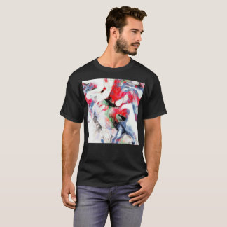 Watercolor Abstract Art Painting Artistic T-Shirt