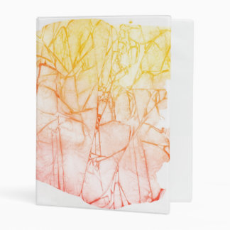 watercolor abstract background mini binder
