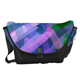 Watercolor Abstract Pattern #6 Messenger Bag