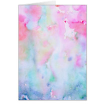 Watercolor Abstract Pink Pattern, Pink Forest