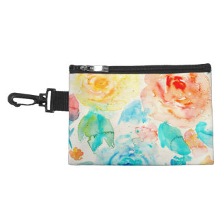 Watercolor Abstract Rose Bag Accessories Bags