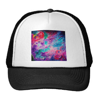 Watercolor Abstract Sea Trucker Hat
