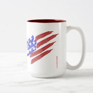 Watercolor American Flag Coffee Gift Mugs