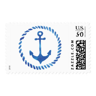 Watercolor Anchor Stamps