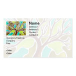 Watercolor and Pen & Ink Tree Double-Sided Standard Business Cards (Pack Of 100)
