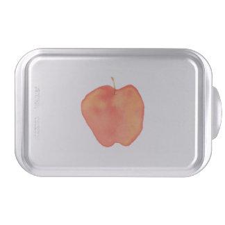 Watercolor Apple Cake Pan