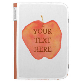 Watercolor Apple Case For The Kindle