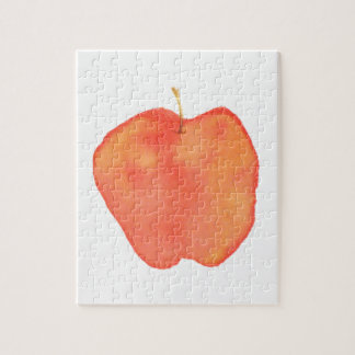Watercolor Apple Puzzles