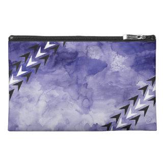 Watercolor Arrowhead Zipper Bag