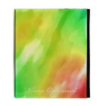 Watercolor Art 8A & 8B Options iPad Folio Cover