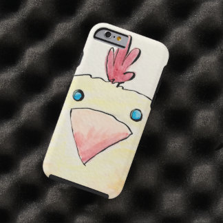 Watercolor Baby Chick Tough iPhone 6 Case