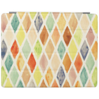 Watercolor background iPad smart cover