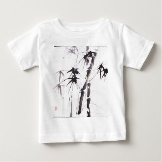 Watercolor Bamboo Baby T-Shirt