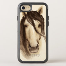 Watercolor Barn Animals   Horse OtterBox Symmetry iPhone 8/7 Case
