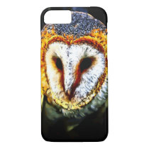 Watercolor Barn Owl iPhone 7 Case