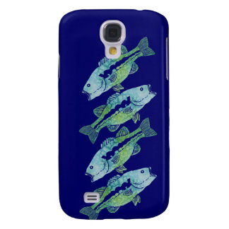 Watercolor Bass Samsung Galaxy S4 Cover
